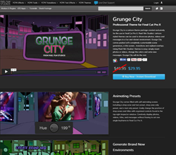 Pixel Film Studios Grunge City Plugin.
