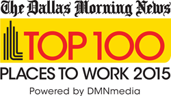 Dallas Morning News 2015 Top 100 Places to Work
