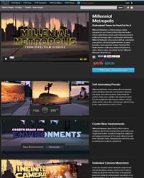 Pixel Film Studios Millennial Metropolis Plugin.