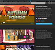 Pixel Film Studios releases  Autumn Forest,  a Professional Theme for Final Cut Pro X.