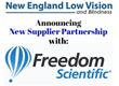 New England Low Vision and Blindness Announces Partnership with Freedom Scientific