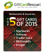 Discounted Gift Cards