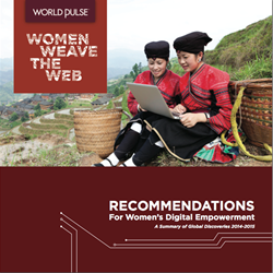 The WWW: Women Weave the Web Report from global digital network, World Pulse