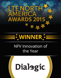 Dialogic wins NFV Innovation of the Year