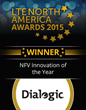 Dialogic Wins 2015 LTE North America Award for NFV Innovation of the Year