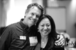 AIHM Co-CEO, Steve Cadwell and AIHM Ambassador, Jeannie Kang, LAc