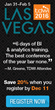 New Training Experience for Data Professionals Unveiled at TDWI Las Vegas 2016