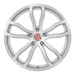 Porsche Wheels by Victor Equipment - Endurance Wheels in silver with mirror cut face and milled spokes