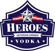 Heroes Vodka, Veteran-Owned, Logo