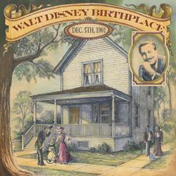 The Walt Disney Birthplace 1893