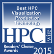 Kitware Receives Honor in 2015 HPCwire Readers' and Editors' Choice Awards