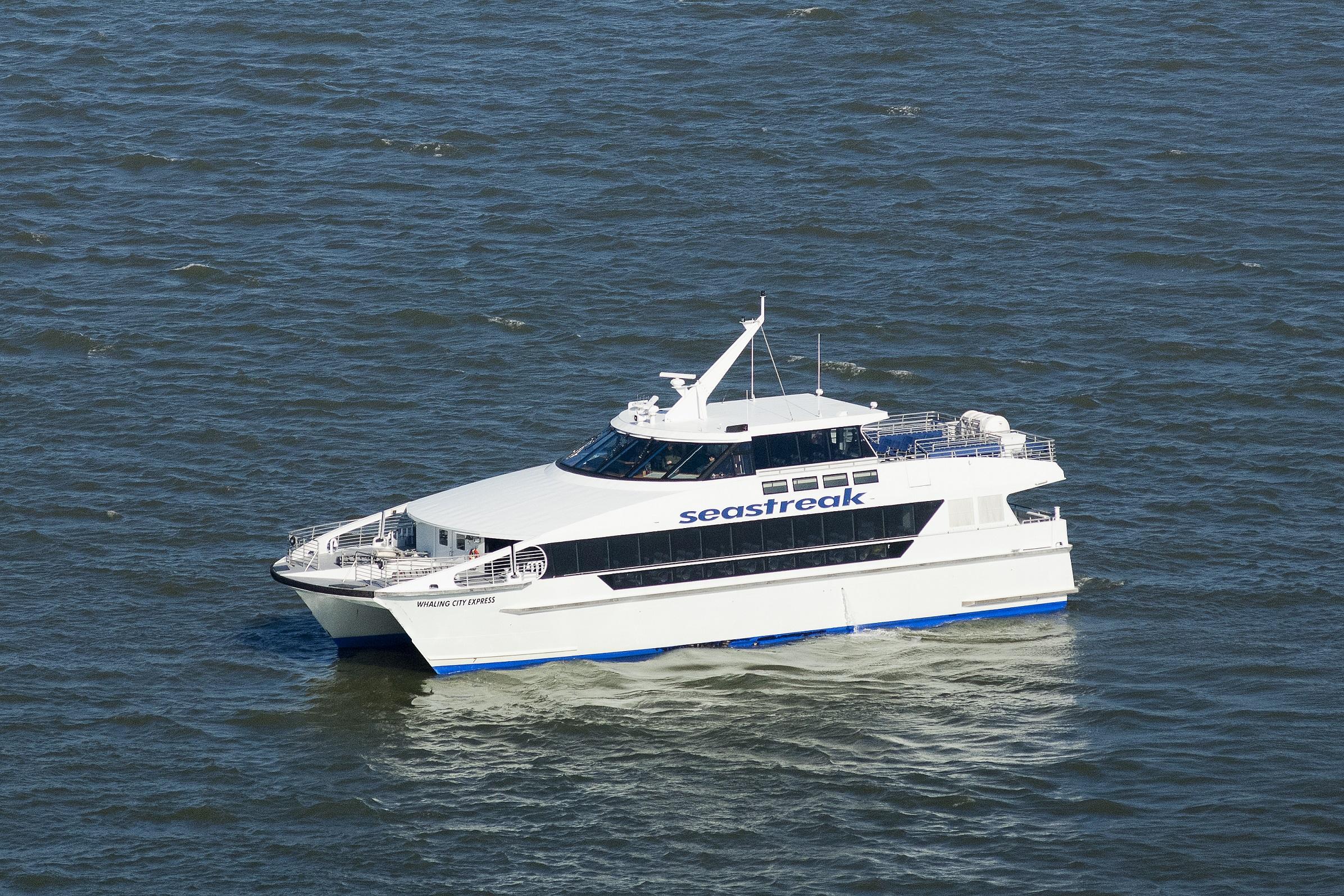 seastreak to operate seasonal ferry service between new bedford and