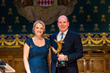 Debbie Kinder, CEO and founder of BLUE and HSH Prince Albert II of Monaco