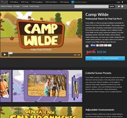 Pixel Film Studios Camp Wilde Plugin.