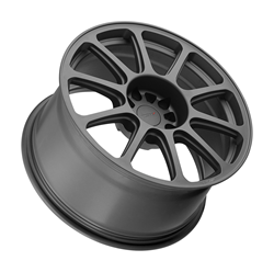 TSW Alloy Wheels - The Rifle in Matte Gunmetal