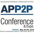 AP & P2P Network Announces Spring 2016 Accounts Payable & Procure-to-Pay Conference & Expo