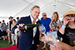 Celebrity winemaker Jean-Charles Boisset wows the crowd as he pours his signature wines and Champagnes at the 2015 South Walton Beaches Wine & Food Festival.