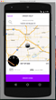 HONK Android app v 2.0 features a map-centric interface