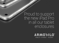 Armodilo Tablet Enclosures and Stands Support the iPad Pro
