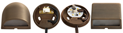 AMP Lighting Deck Lights now available in both integrated and lamp-ready (socketed) versions.