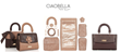 """CIAOBELLA Invites Women Everywhere to Become Designers of Their Own """"Made By You"""" Custom Handbags and Purses"""