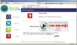 Audio-Packed: SpanishBackpack makes extensive use of audio tools, allowing students to listen to audio clips and record their own answers to assignments, which are easily graded by the teacher.
