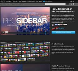 Pixel Film Studios ProSidebar Urban Plugin.