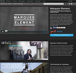 Pixel Film Studios Marquee Element Plugin.