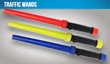 Nightstick® Introduces 3 New LED Traffic Wands Marshalling Change Back to Common Sense Affordability
