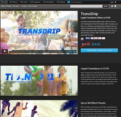Pixel Film Studios TransDrip Plugin.