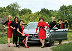 KVC Gala event chairs Bonne Illig and her team from Leawood, Kansas private jeweler VanBrock