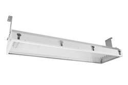 Class 1 Division 2 Fluorescent Light Fixture with Six 54 Watt Lamps