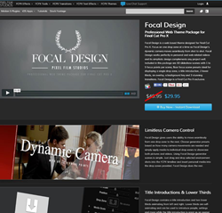 Pixel Film Studios Focal Design Plugin.