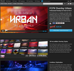 Pixel Film Studios FCPX Overlay Urban Plugin.