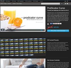 Pixel Film Studios ProDicator Curve Plugin.