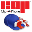 Clip-A-Phone Smart Phone Mount for Hats Available Today