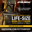 Sideshow and ThinkGeek Star Wars Fans Get a Chance to Win the Biggest Bounty in the Galaxy