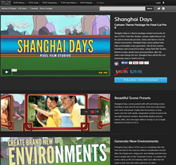 Pixel Film Studios Shanghai Days Plugin.