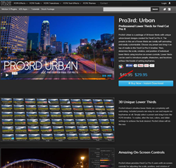 Pixel Film Studios Pro3rd Urban Plugin.