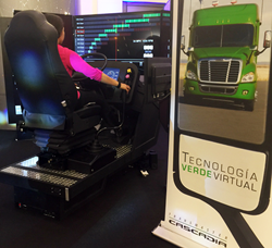 ATS simulator and technology at ExpoTransporte