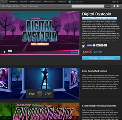 Pixel Film Studios Digital Dystopia Plugin.