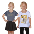 Star Wars is for everyone and this stylish new striped Youth tee featuring The Force Awakens logo or this new Youth baseball tee with the image of Rey can be proudly worn by young girls everywhere.