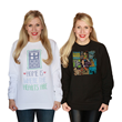 Two new Doctor Who pullovers from Her Universe will keep you warm and cozy this holiday season.