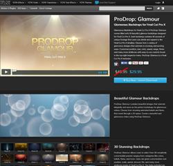Pixel Film Studios ProDrop Glamour Plugin.