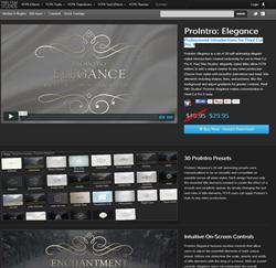 Pixel Film Studios ProIntro Elegance Plugin.