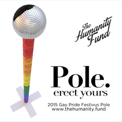 2015 Gay Pride Festivus Pole