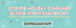 Technology on the Rise: The 2015 Pre-Holiday Consumer Buying Intentions Report