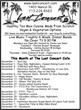 Last Concert Cafe Announces November Lineup