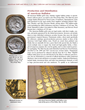 Go behind the scenes at the U.S. Mint to see modern gold and silver coins being produced.