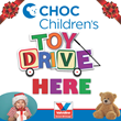 Valvoline Instant Oil Change is Holding a Toy Drive Benefiting CHOC Children's Patients this Holiday Season
